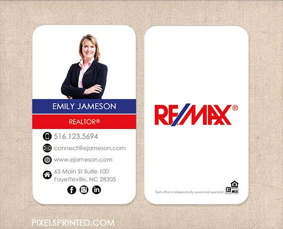 Remax real estate business cards thick color both sides free remax realtor business cards thick color both sides free ups ground reheart Image collections