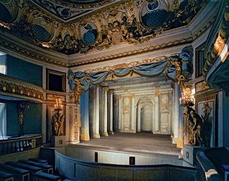 Théatre de la reine Marie Antoinette, Petit Trianon, Château de Versailles (RP.Vers.209) (40x50,50x60)