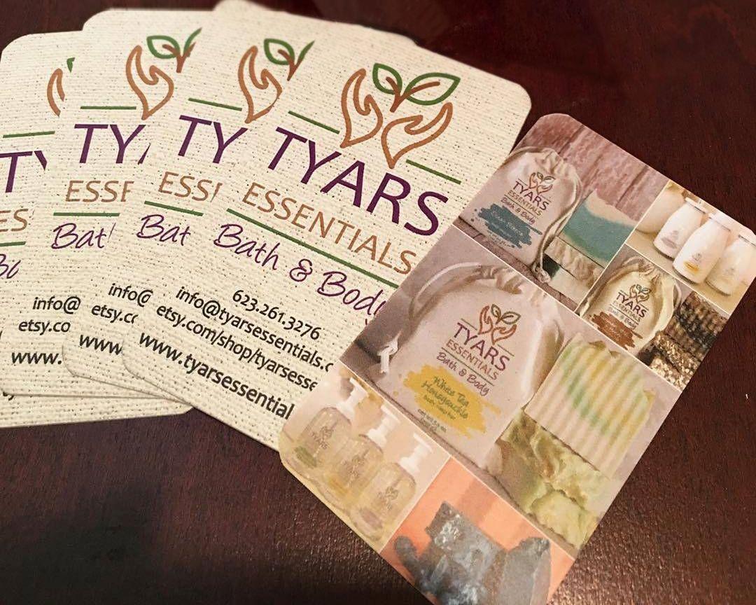 Bath body business cards custom soap business card