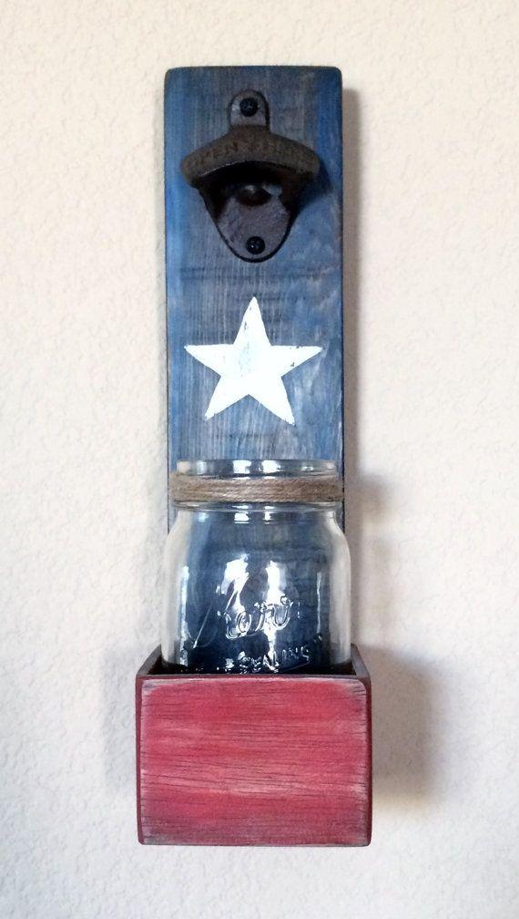 Cap Catcher Beer Bottle Opener Gift For Dad By