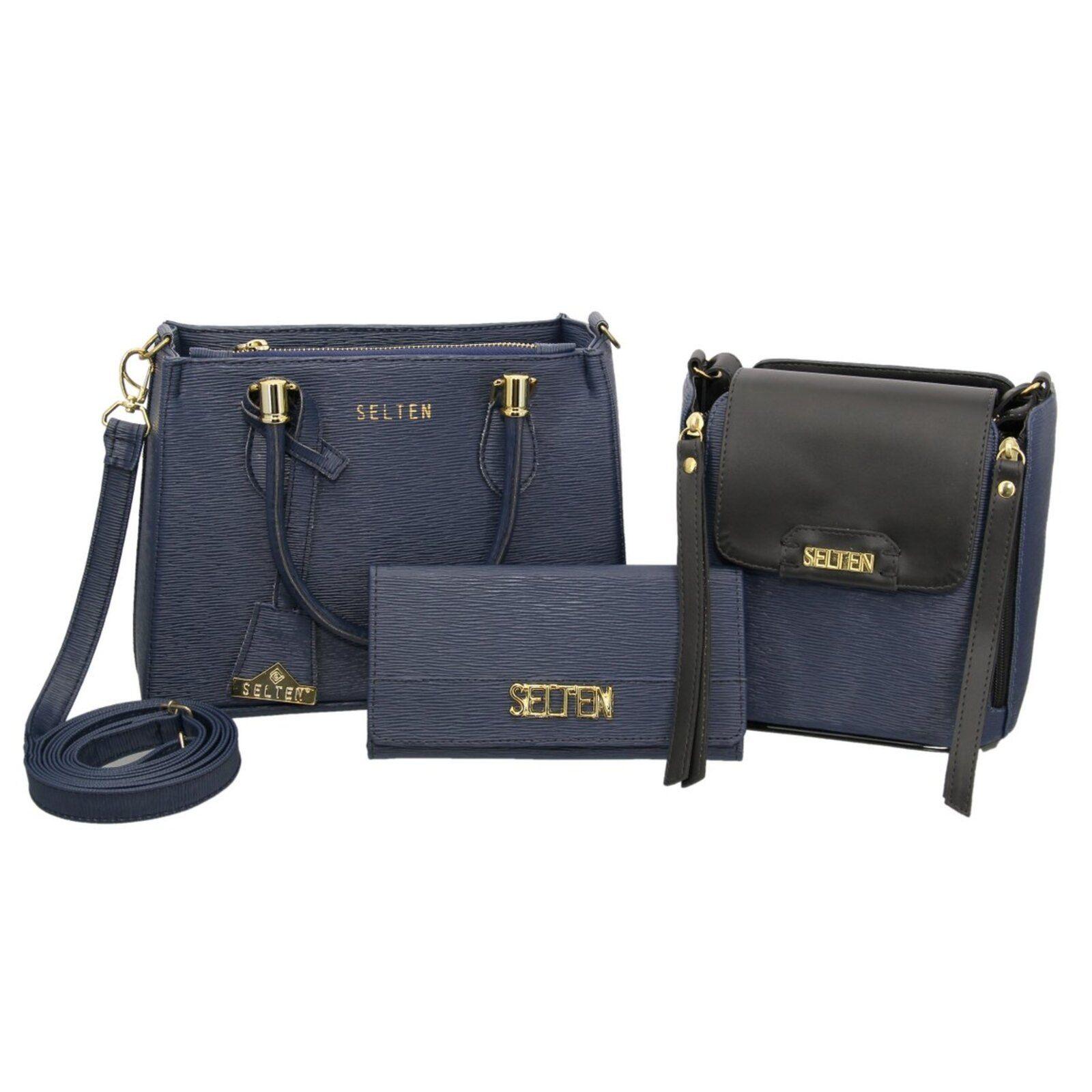 Bolso bandolera Selten Blue Wallet