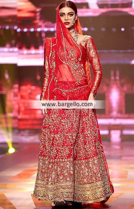 Beautiful Traditional Pakistan Wedding Dresses Virginia USA Wedding Lehenga for Modern Brides