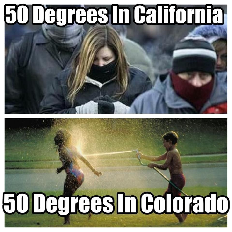 Dating california vs colorado