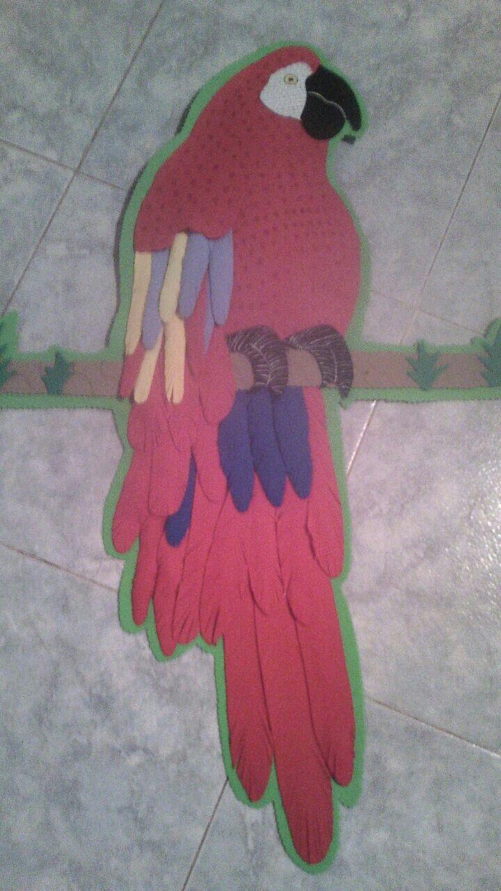 Guacamaya foami