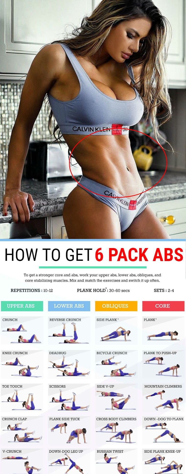 6 Standing Abs Exercises For A Sexy Six-Pack And Slender Body Sculpt