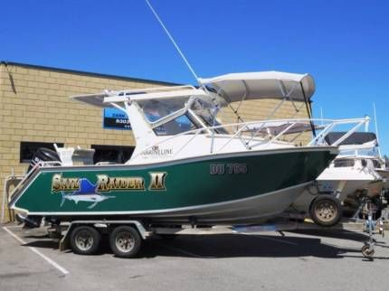 Marineline 6m PLATE ALLOY FISHING BOAT WITH BOW RIDER