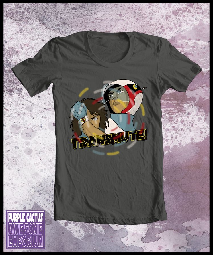 Mens Gatchaman tshirt - Transmute | Battle of the planets ...