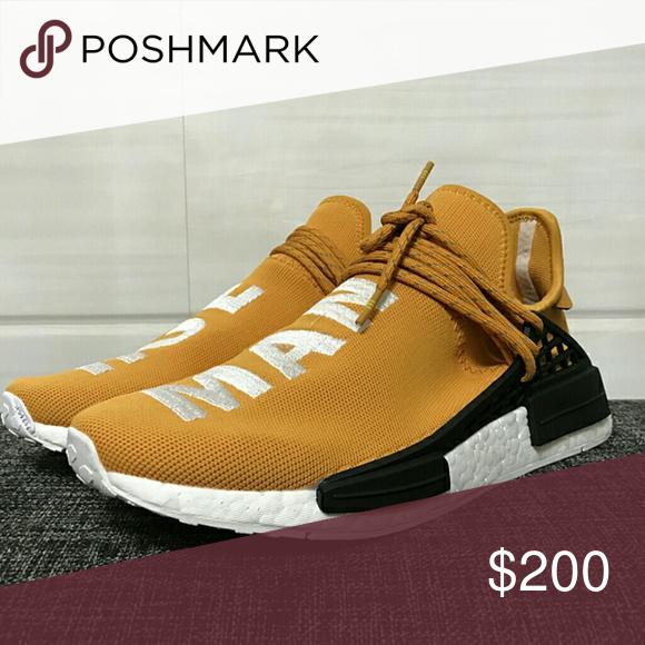 f2beeb59c Pharrell Williams Adidas Human Race NMD PW Orange Size 5-13