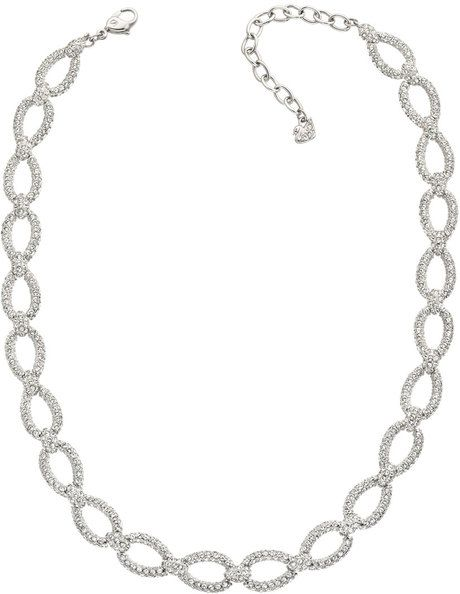 Selma Crystal Necklace - Lyst