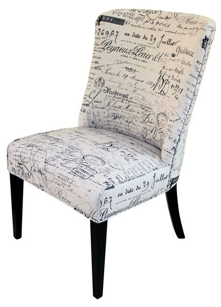 Furniture Online & Decorating Accessories   French Script Dining /OccasionalChair   Interiors Online Furniture