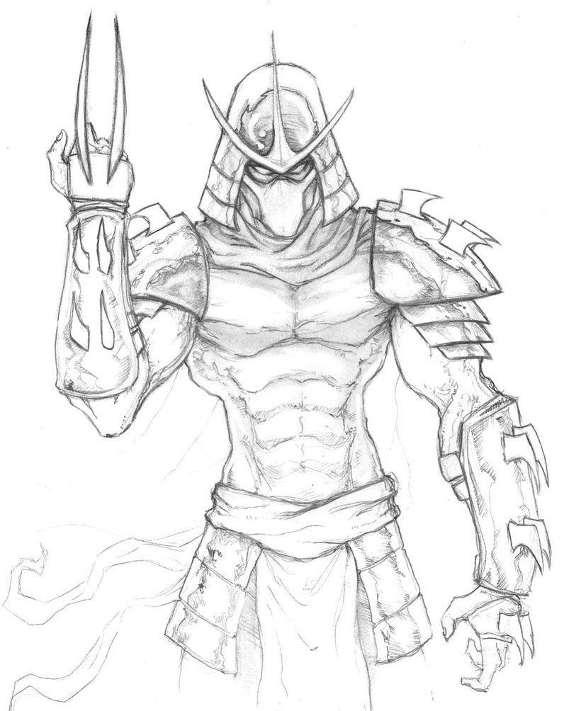 the shredder tmnt by chrisozfulton on deviantart gaming
