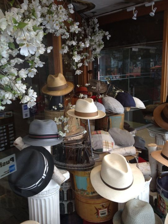 JJ Hat Center is one of NYC s oldest hat stores. Need a certain kind ... b5e0a7ca4fff