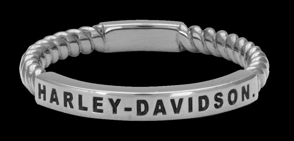 HarleyDavidson® Women's B & S Stacking Ring HDR0488