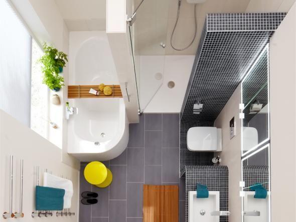 Das Minibad Kleines Bad Mit Dusche Kleine Badezimmer Bad Grundriss