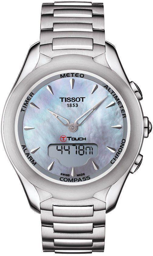 Tissot Watch T Touch Lady Solar Alarm Yes Bezel Fixed Bracelet Strap Steel Case Material Steel Case Width 38mm Chr Tissot T Touch Tissot Tissot Watches
