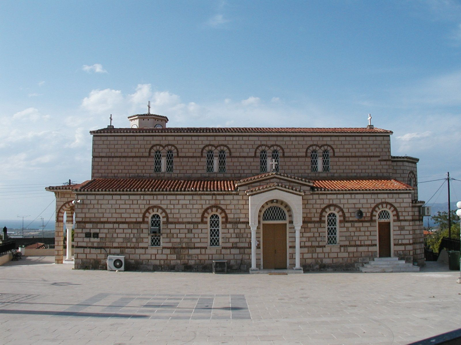 church of the Panagia in Ancient Corinth     [ 1 Cor.13 inscription ]