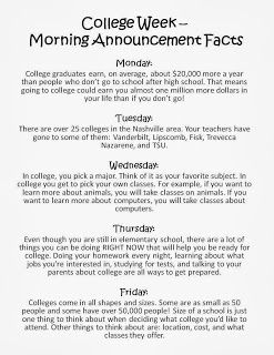 College Awareness Week | That AVID Life! | College counseling