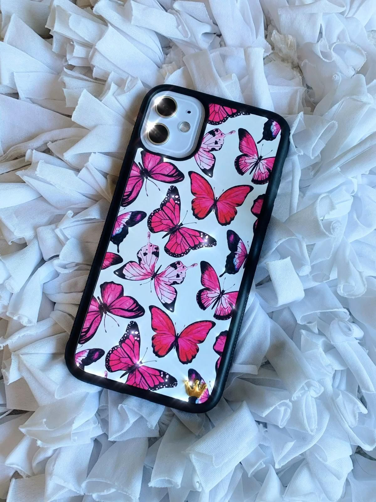 Coming soon pink butterflies in 2020 girly phone cases