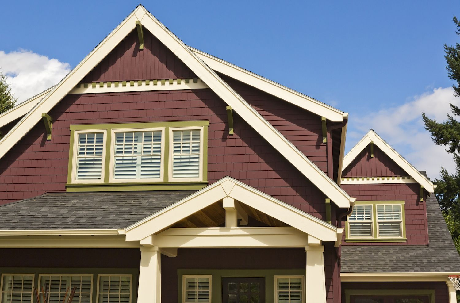 Beau How To Choose Exterior Paint Colors With A Visualizer. Improve Your Curb  Appeal With The