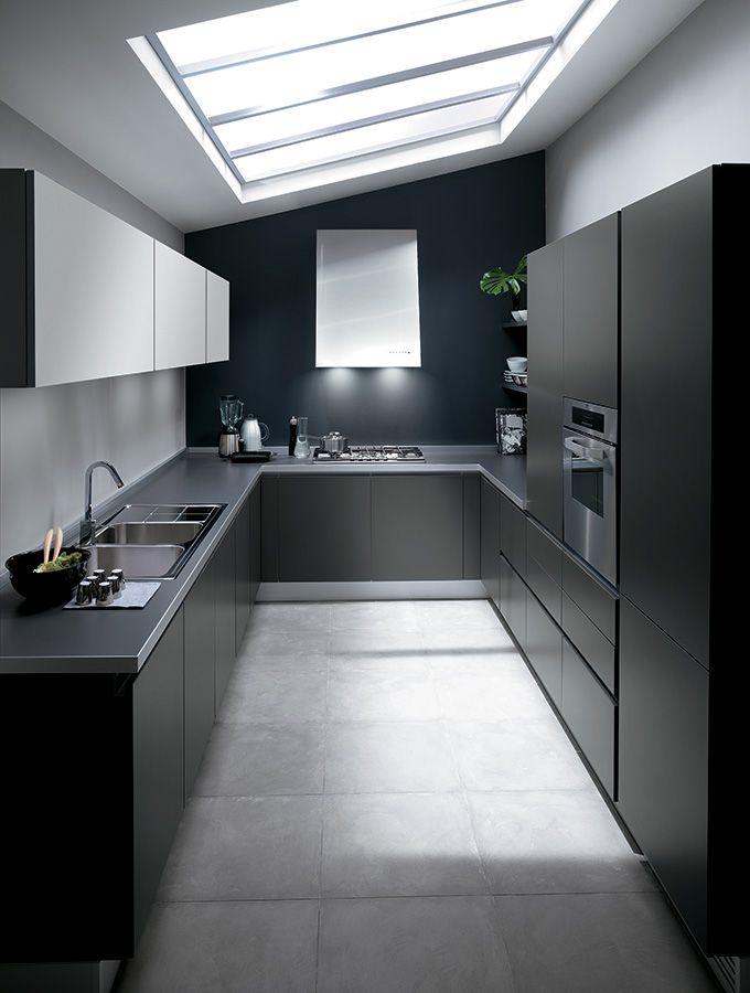 Cucine One - Cucine Moderne di Design - Ernestomeda | Kitchen ...