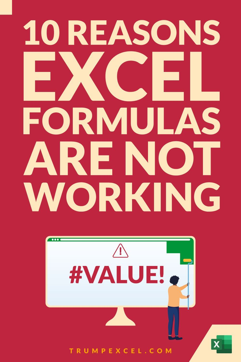 Excel Formulas Not Working Possible Reasons and How to FIX IT ...