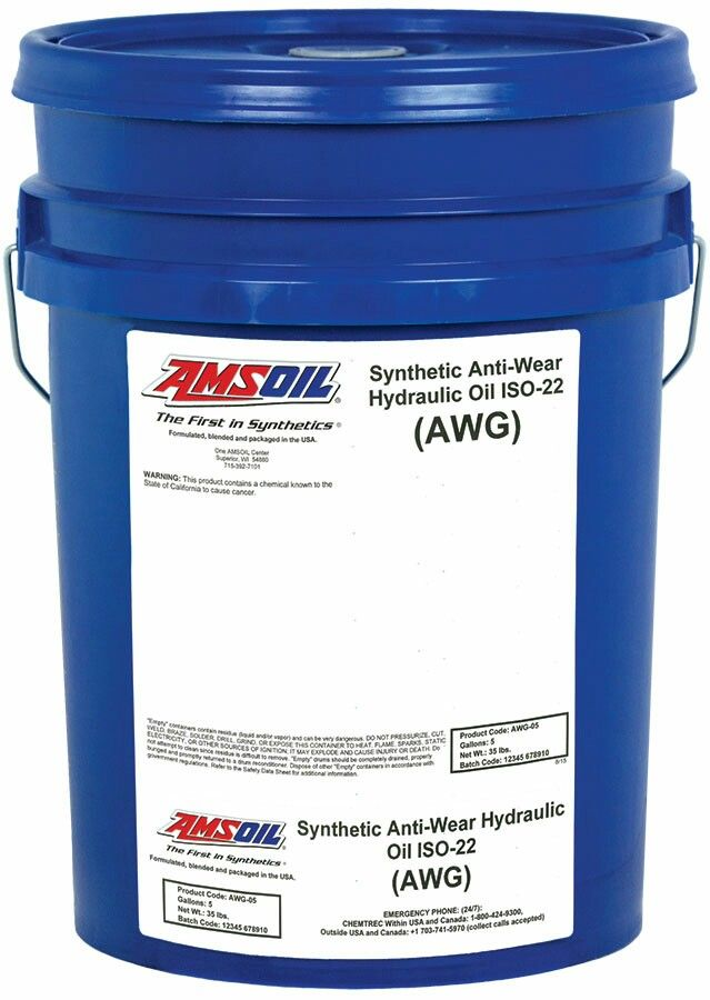 The Correct Viscosity Grades Of Amsoil Synthetic Aw Series Anti