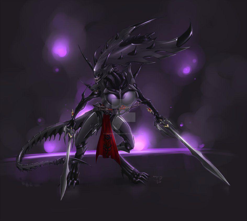 contest entry - alien empress by crimson-nemesis