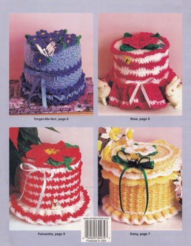 Floral-Ruffle-Tissue-Toppers-Home-Decor-Crochet-Pattern-Booklet-HWB-101167