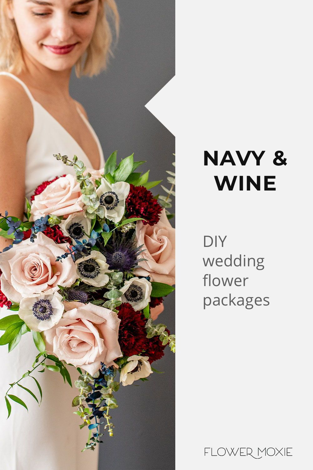 Get Inspired By Our Wedding Flower Packages Mix Match Flowers To Achieve The Look You Diy Bridesmaid Bouquet Online Wedding Flowers Wedding Flower Packages