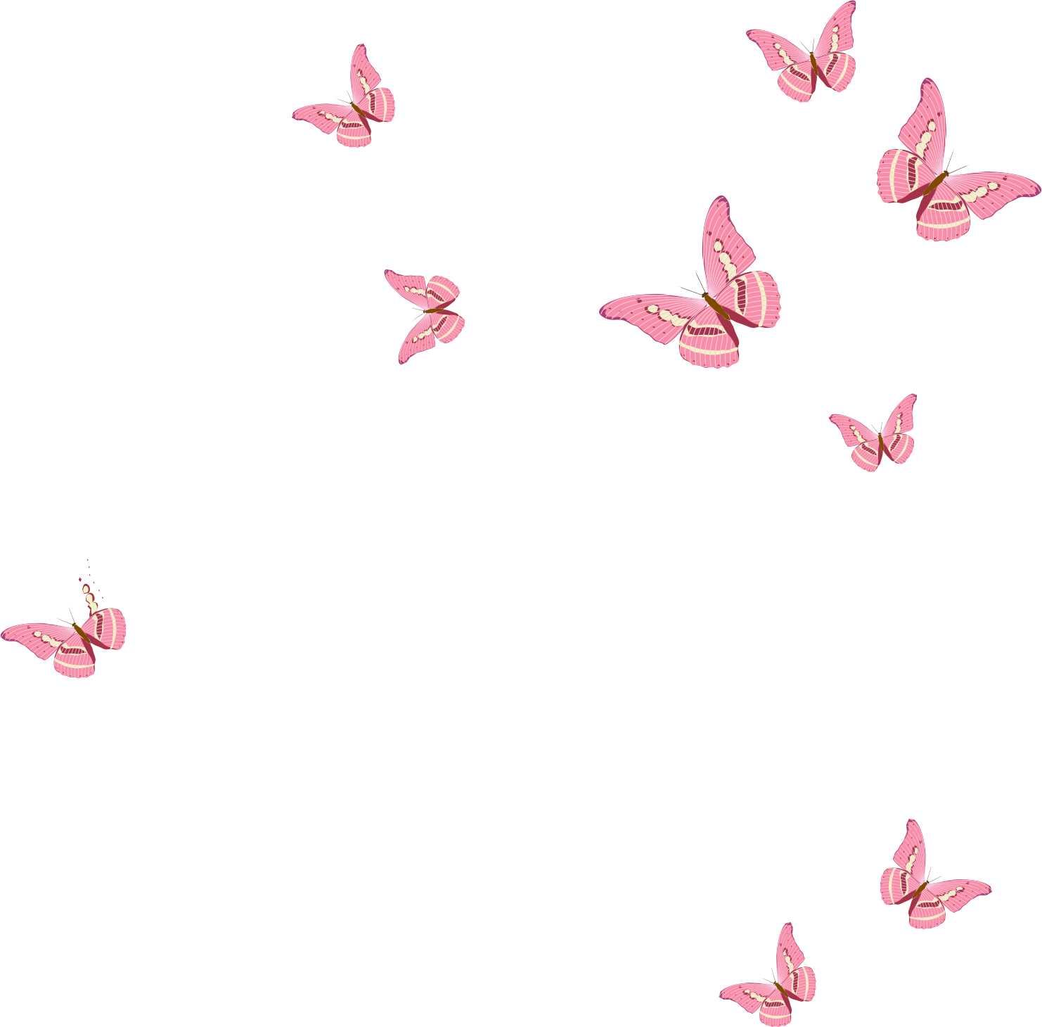 Pin By 2 The Moon And Back On Picsart Stickers Pink Wallpaper Backgrounds Pink Butterfly Aesthetic Iphone Wallpaper