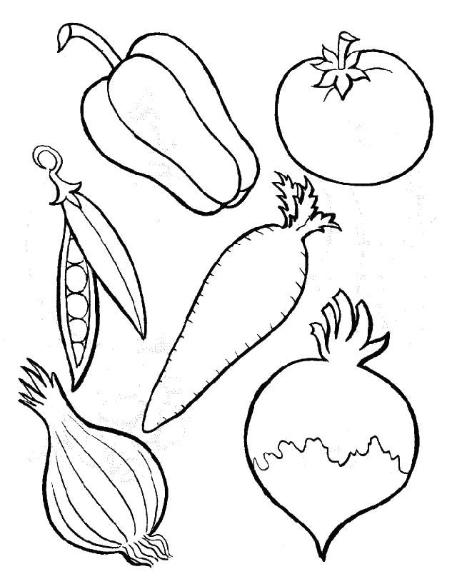 Six Kinds Of Perfect Vegetables Coloring For Kids Vegetable Coloring Pages Fruit Coloring Pages Fruits And Vegetables Pictures