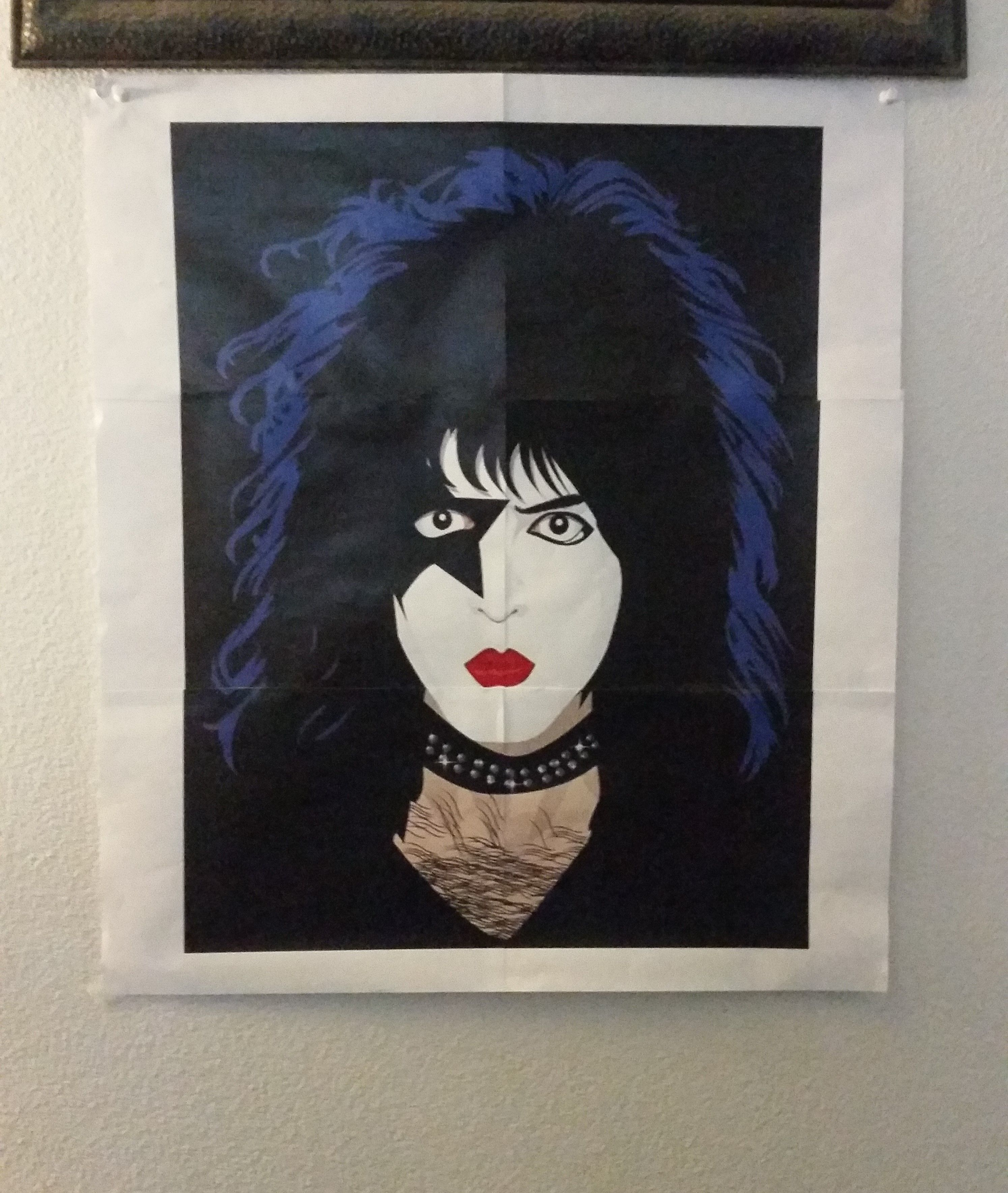 Pin the Star On Peter Criss Game