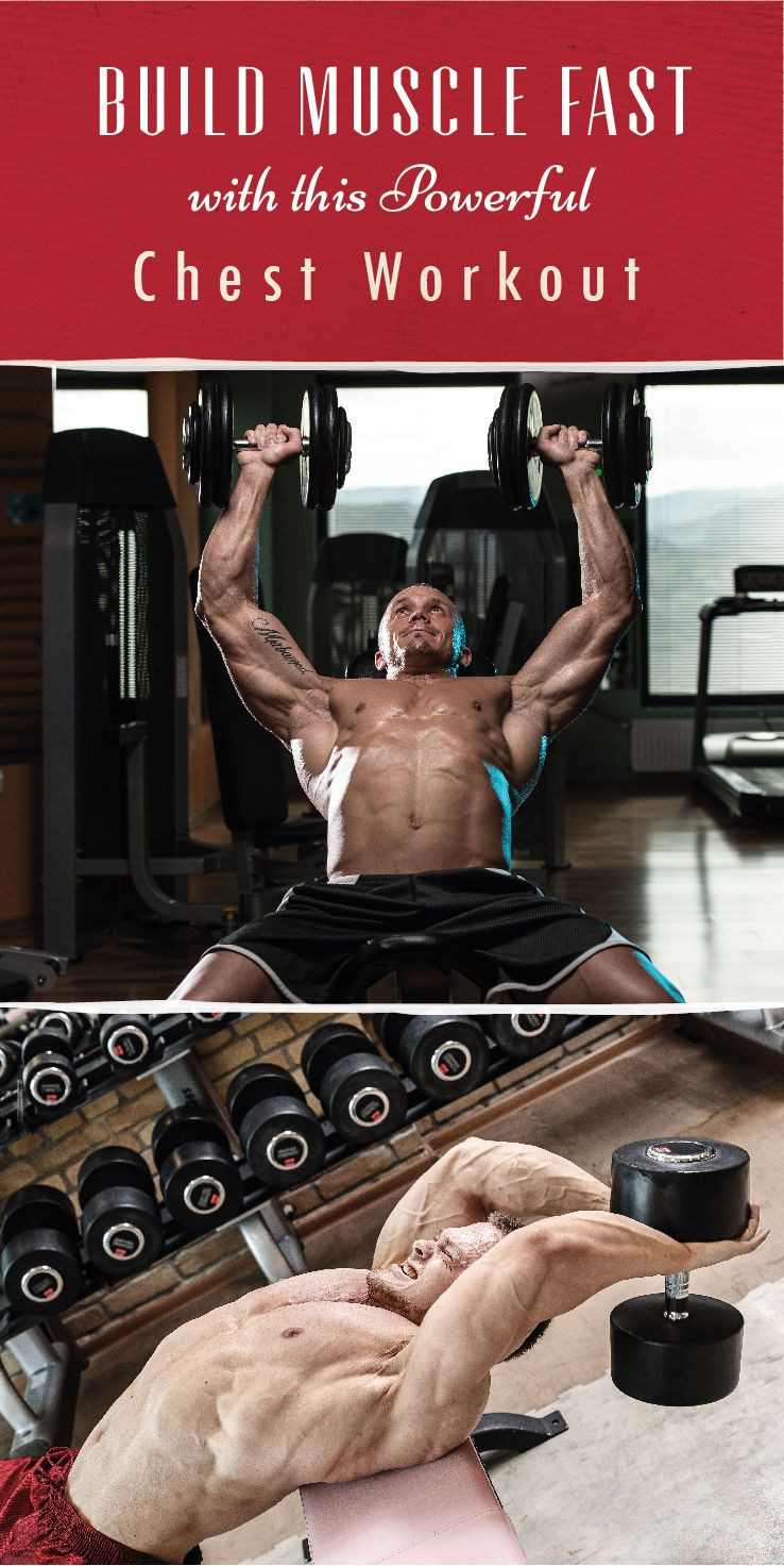 Sometimes, you've gotta change up your game plan to see results. Check out this chest workout crafted with optimal growth in mind. Don't forget to eat more. #ChestWorkout