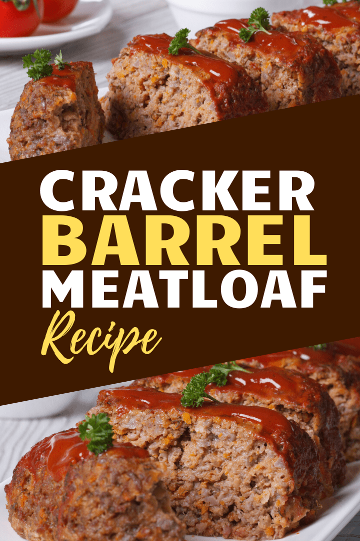 Secret Recipe Cracker Barrel Meatloaf Recipe Meatloaf Beef Recipes Good Meatloaf Recipe