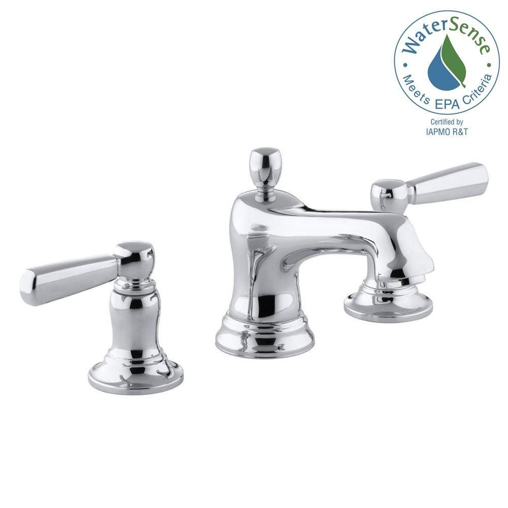 Kohler Bancroft 8 In Widespread 2 Handle Low Arc Bathroom Faucet