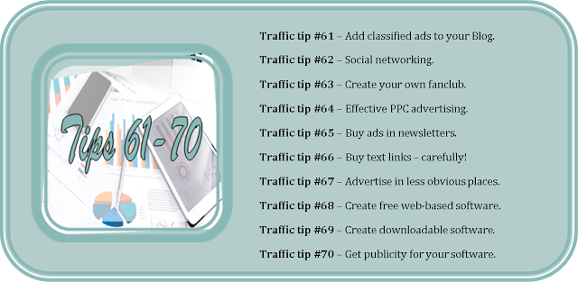 77 Ways to get more traffic to your blog for FREE - Pretty Shabby Uk