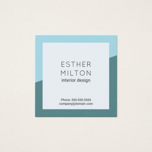 Professional blue geometric interior design business cards on business cards reheart Gallery