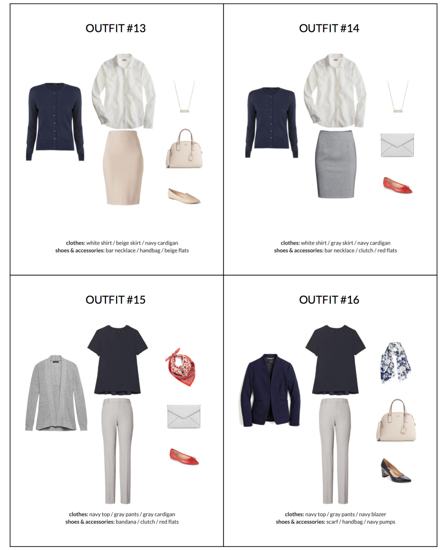 2fb5fa4fcb17 The Workwear Capsule Wardrobe  Spring 2018 Collection in 2019 ...