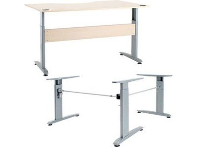 Electric Height Adjustable Desk Frame | Häfele UK Ltd
