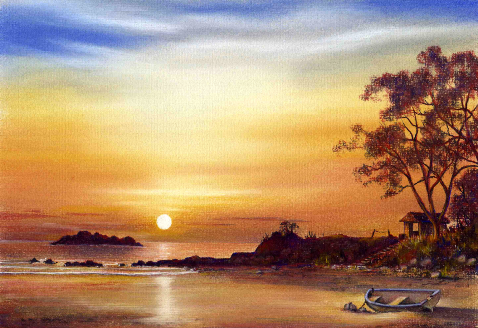 Learn To Draw With Pastel Pencils Landscapes Beginners Starter Pack