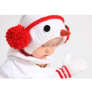 Free Snowman Hat And Mittens Knitting Pattern Knit And Crochet