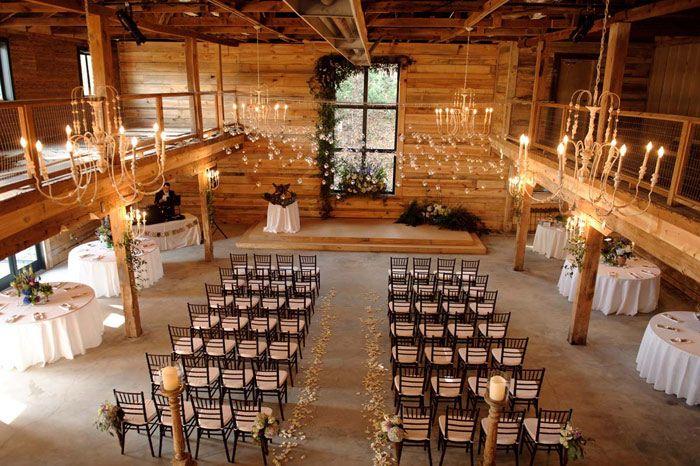 Rustic Elegant Weddings Have An In Town Barn Wedding