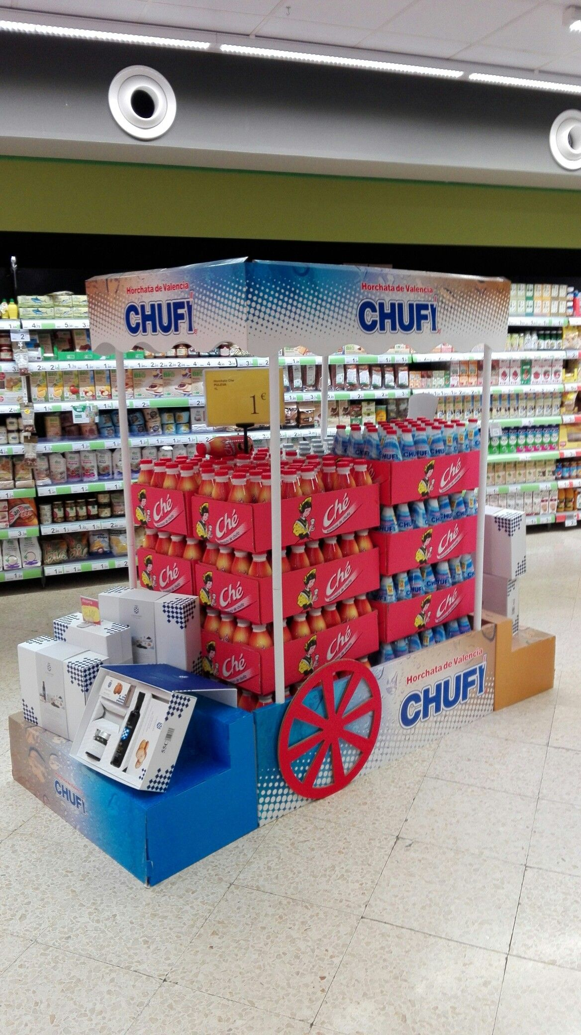 Plv Pos Pop Carrefour Express Madrid Spain Pinned By Ies