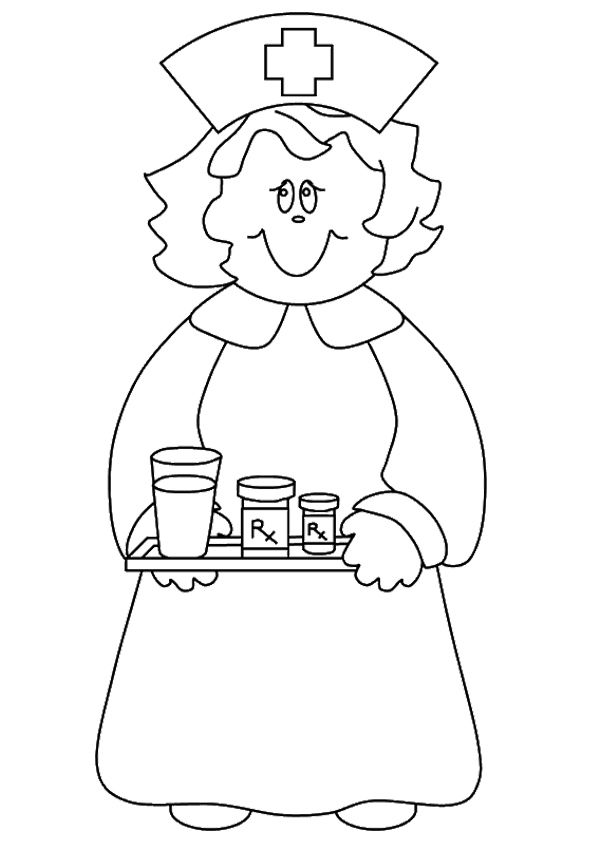 Top 16 Nurse Coloring Pages Only Coloring Pages
