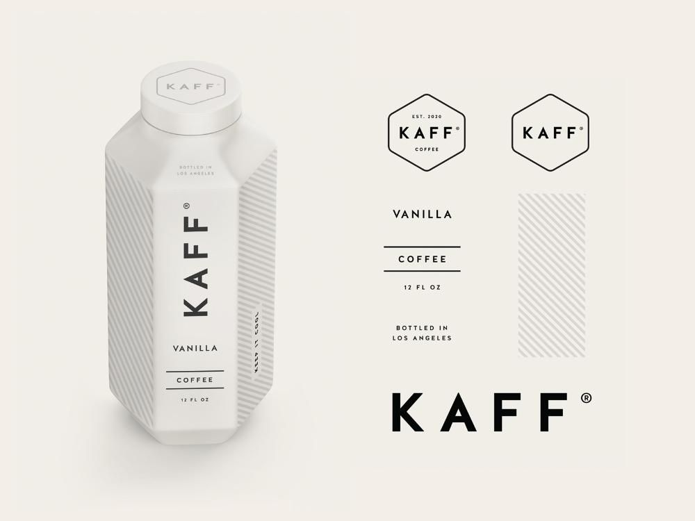 Kaff Coffee Branding & Packaging by Salih Küçükağa on Dribbble