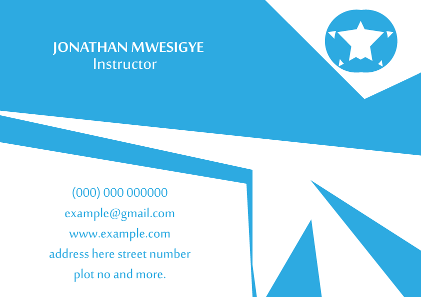 Adobe Illustrator Cs5 Colors Blue White Sides 1 Sided Here Free Business Card Designfree