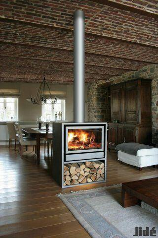 Cheminee Standing Fireplace Freestanding Fireplace Wood Fireplace
