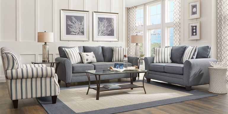 Cindy Crawford Home Beachside Walk Linen Textured 8 Pc Living Room In 2021 Living Room Sets Furniture 5 Piece Living Room Set Living Room Sets