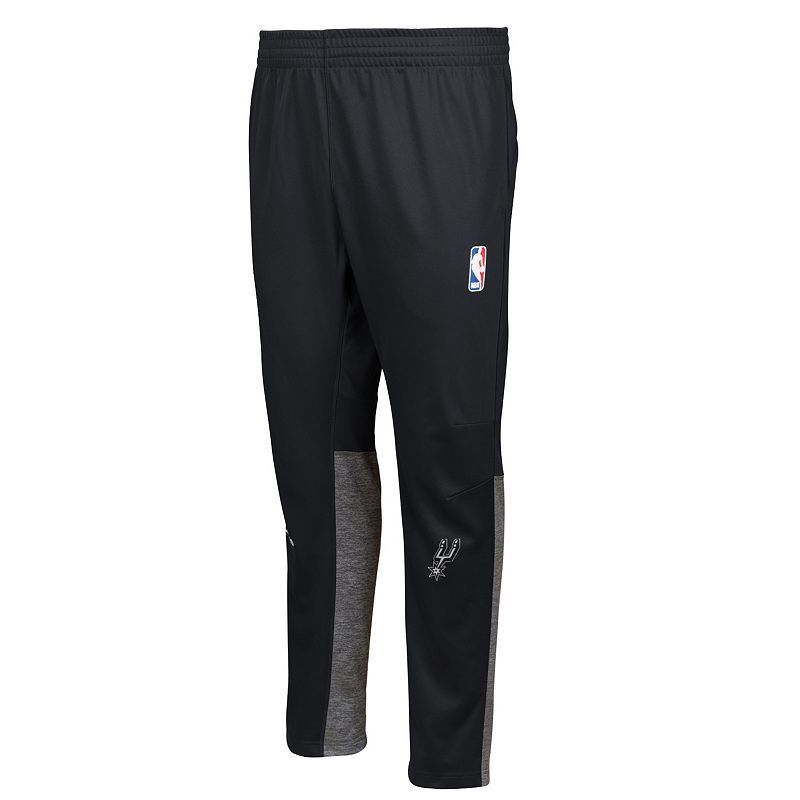 Men's adidas San Antonio Spurs On Court Pants | Black adidas
