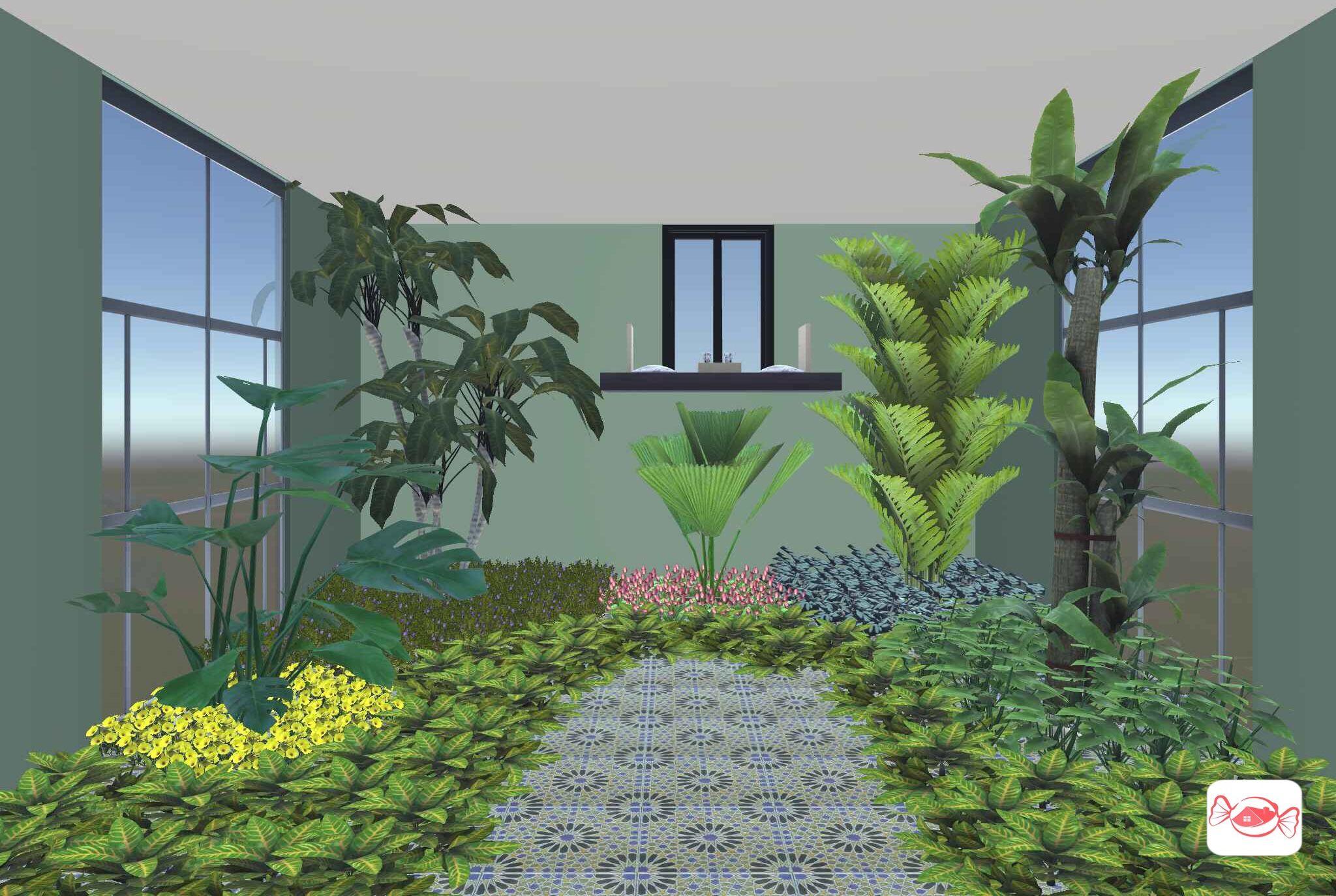 Indoor Garden Created With Home Sweet Home 3d App Indoor Garden Sweet Home Design